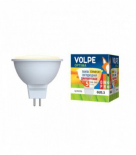 Светодиодная лампа диммирруемая серии Optima Dimmable LED-JCDR-5W/WW/GU5.3/DIM/O