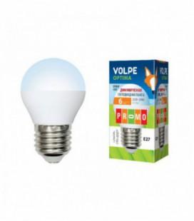 Светодиодная лампа диммирруемая серии Optima Dimmable LED-G45-6W/NW/E27/FR/DIM/O