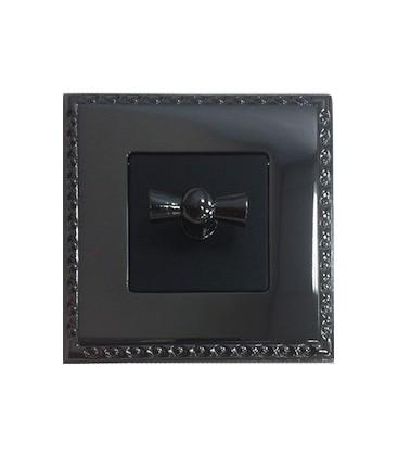Поворотный выключатель в сборе FEDE коллекция Toledo, Graphite