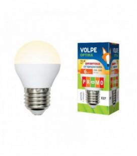 Светодиодная лампа диммирруемая серии Optima Dimmable LED-G45-6W/WW/E27/FR/DIM/O