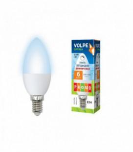 Светодиодная лампа диммирруемая серии Optima Dimmable LED-C37-6W/NW/E14/FR/DIM/O