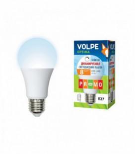 Светодиодная лампа диммирруемая серии Optima Dimmable LED-A60-8W/NW/E27/FR/DIM/O