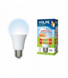 Светодиодная лампа диммирруемая серии Optima Dimmable LED-A60-11W/NW/E27/FR/DIM/O