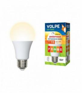 Светодиодная лампа диммирруемая серии Optima Dimmable LED-A60-11W/WW/E27/FR/DIM/O