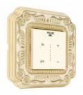 Диммер с сенсорным управлением в сборе FEDE коллекция SMALTO ITALIANO Firenze, Gold White Patina