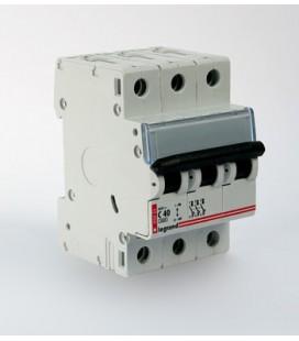 Автоматический выключатель Legrand DX3 3 фазы 10A 3М (Тип C) 6 kA
