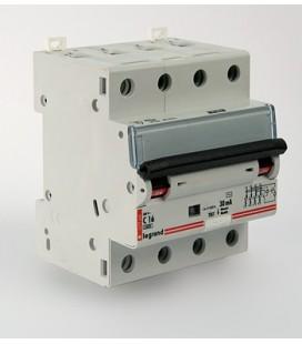 Автоматический выключатель Legrand DX3 4 фазы 20A 4М (Тип C) 6 kA