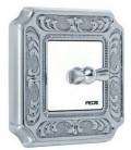 Поворотный выключатель в сборе FEDE коллекция SIENA, Bright Chrome