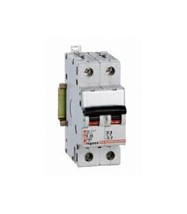 Автоматический выключатель Legrand DX 2 фазы 50A 2М (тип C) 6кА