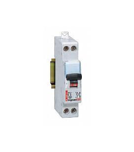 Автоматический выключатель Legrand DX 1 фаза+нейтраль 10A 1М (тип C) 4,5кА