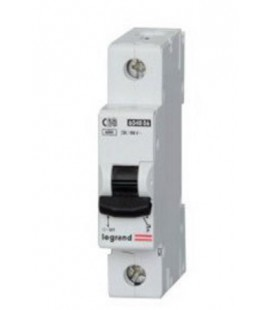 Автоматический выключатель Legrand LR 1 фаза 50А (тип С) 6кА