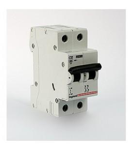 Автоматический выключатель Legrand LR 2 фазы 16А (тип С)