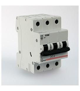 Автоматический выключатель Legrand LR 3 фазы 6А (тип С)