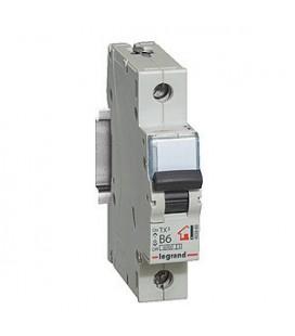 Автоматический выключатель Legrand TX3 1 фаза 6A 1М (Тип C) 6 kA