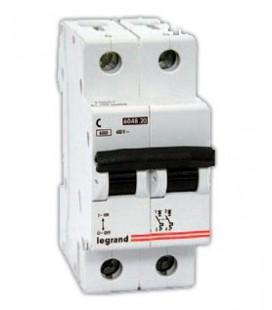 Автоматический выключатель Legrand TX3 2 фазы 10A 2М (Тип C) 6кА