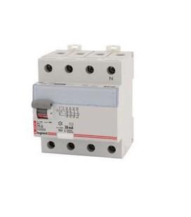 Устройство защитного отключения Legrand 4 полюса 300mA 25А 4М (AC)