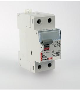 Устройство защитного отключения Legrand DX3 2 полюса 30mA 25А 2М (AC)