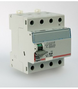 Устройство защитного отключения Legrand DX3 4 полюса 30mA 63А 2М (AC)