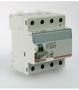Устройство защитного отключения Legrand DX3 4 полюса 30mA 80А 4М (AC)