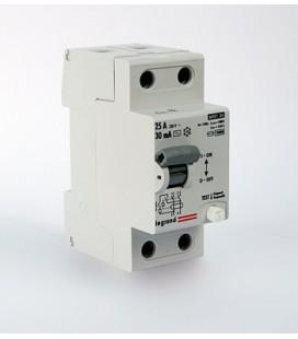 Устройство защитного отключения Legrand TX3 2 полюса 30mA 25А (AC)