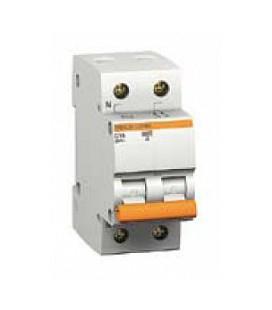 Автоматический выключатель Schneider Electric ВА63 1П +Н 10А C