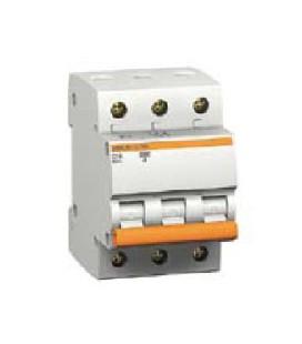 Автоматический выключатель Schneider Electric ВА63 3П 6А C