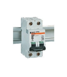 Автоматический выключатель Schneider Electric C60H 2П 0.5 C