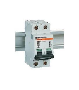 Автоматический выключатель Schneider Electric C60H 2П 0.75 C
