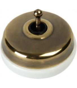 Выключатель тумблерный Fontini Collection Dimbler, бронза