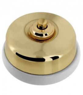 Кнопка нажимная Fontini Collection Dimbler, золото