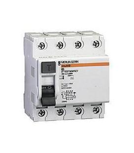 Дифференциальный выключатель нагрузки Schneider Electric ID 4Р 100A 300МA