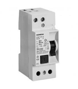 Устройство защитного отключения Siemens 1ф 40А 30мА, тип АС