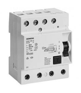 Устройство защитного отключения Siemens 3ф 80А 30мА, тип АС