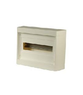 Шкаф наружного монтажа Legrand Nedbox 12+1 мод без дверцы, белый