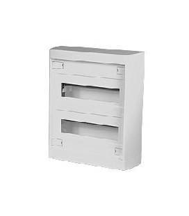 Шкаф наружного монтажа Legrand Nedbox 24+2 мод без дверцы, белый
