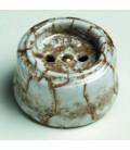 Розетка без заземления Fontini Collection Garby, мрамор