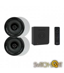 Аудиосистема Artsound с функцией Bluetooth для скрытой установки динамиков CRAZY-PACK ART3.1BT + комплект динамиков FL501