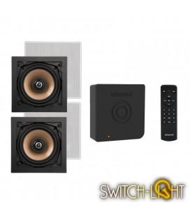 Аудиосистема Artsound с функцией Bluetooth для скрытой установки динамиков CRAZY-PACK ART3.1BT + комплект динамиков HPSQ525