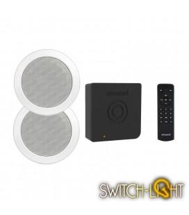Аудиосистема Artsound с функцией Bluetooth для скрытой установки динамиков CRAZY-PACK ART3.1BT + комплект динамиков MD50 W