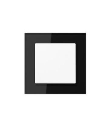 Выключатель Jung серия A Creation, стекло черное