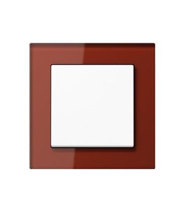 Выключатель Jung серия A Creation, стекло красный