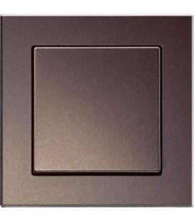 Выключатель Jung серия A Creation, стекло мокка