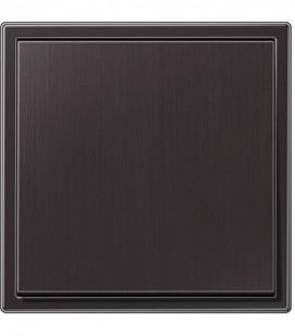 Выключатель Jung серия LS 990 Messing, темная латунь