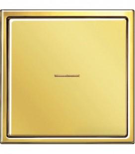 Выключатель Jung серия LS 990, золото