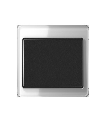 Выключатель Jung серия SL 500, серебро/черный