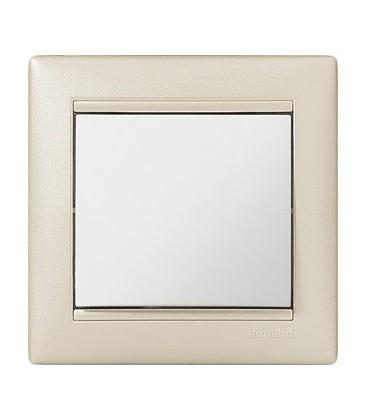 Выключатель Legrand серия Valena, жемчужный/белый