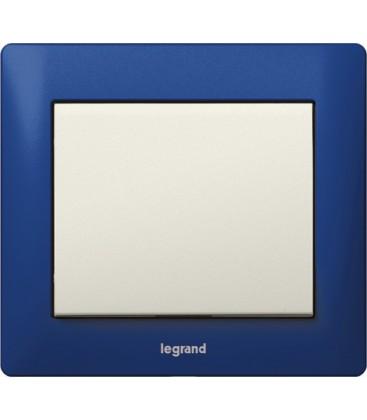 Выключатель Legrand серия Galea Life, Magic blue/белый