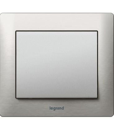 Выключатель Legrand серия Galea Life, Brushed Aluminium