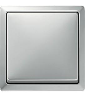Выключатель Merten серия Artec, сталь