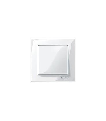Выключатель Merten серия M-Plan, полярно-белый